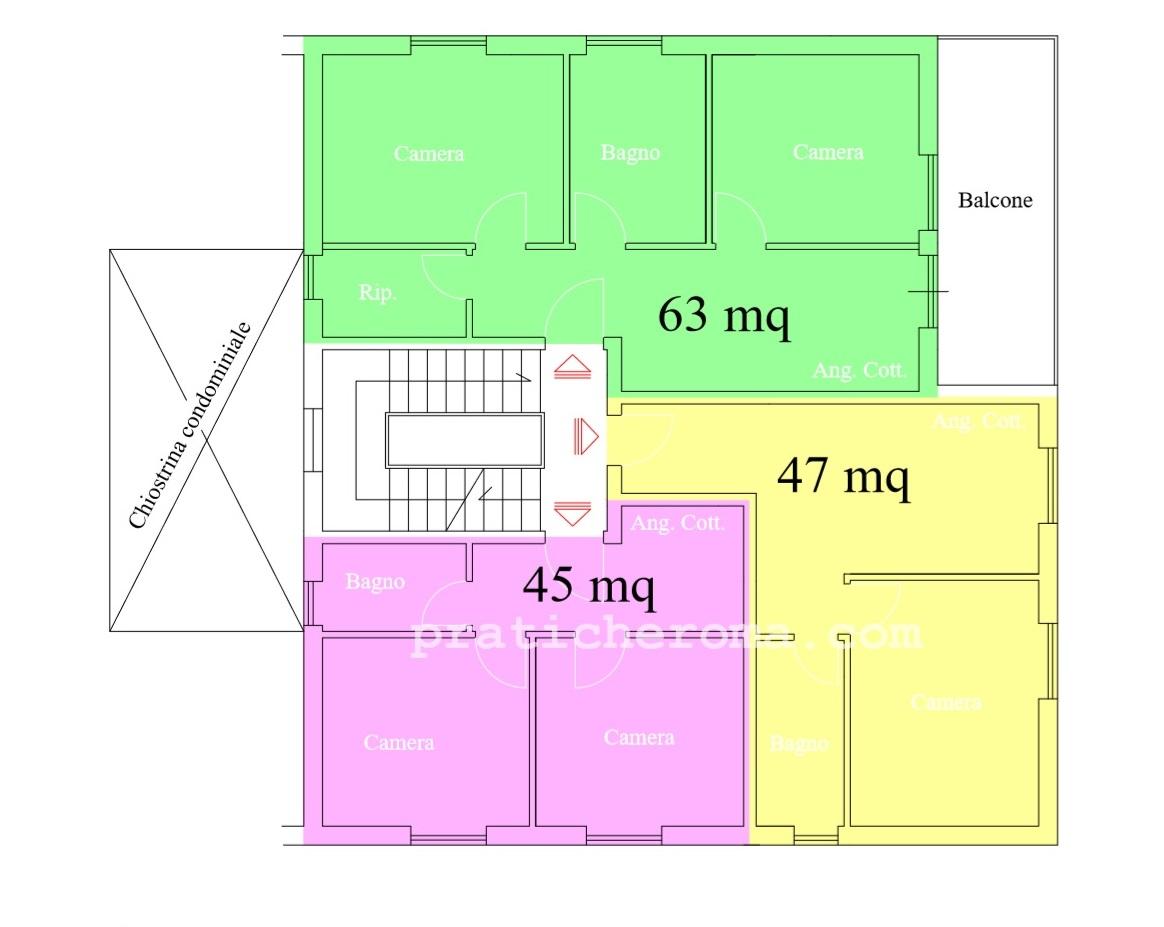Frazionare Un Appartamento A Roma Pratiche Roma